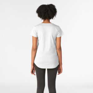 Lava Prints Tongue out T-shirt for Women White Round Neck
